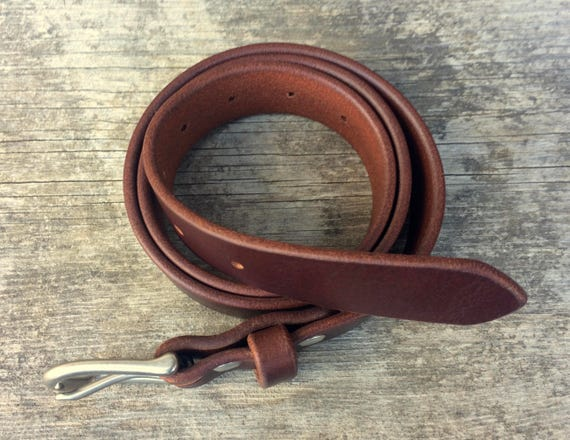 En cuir marron ceinture Nickel boucle de ceinture homme en laiton nickelé  ceintures ceintures des femmes plein grain cuir fait à la main de ... 0cb9de70585