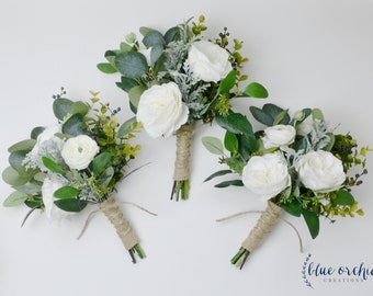 Silk wedding flowers etsy bridesmaid bouquet wedding flowers fall bouquet fall bridesmaid bouquet fall wedding flowers silk wedding flowers artificial bouquet mightylinksfo