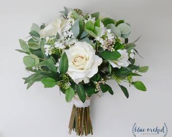 boho bouquet etsy