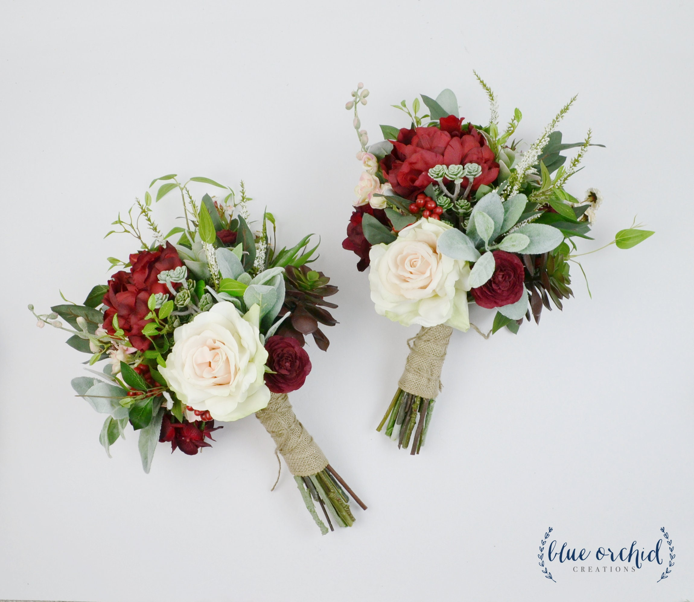 Bridesmaid Bouquet Wedding Flowers Fall Bouquet Fall Etsy