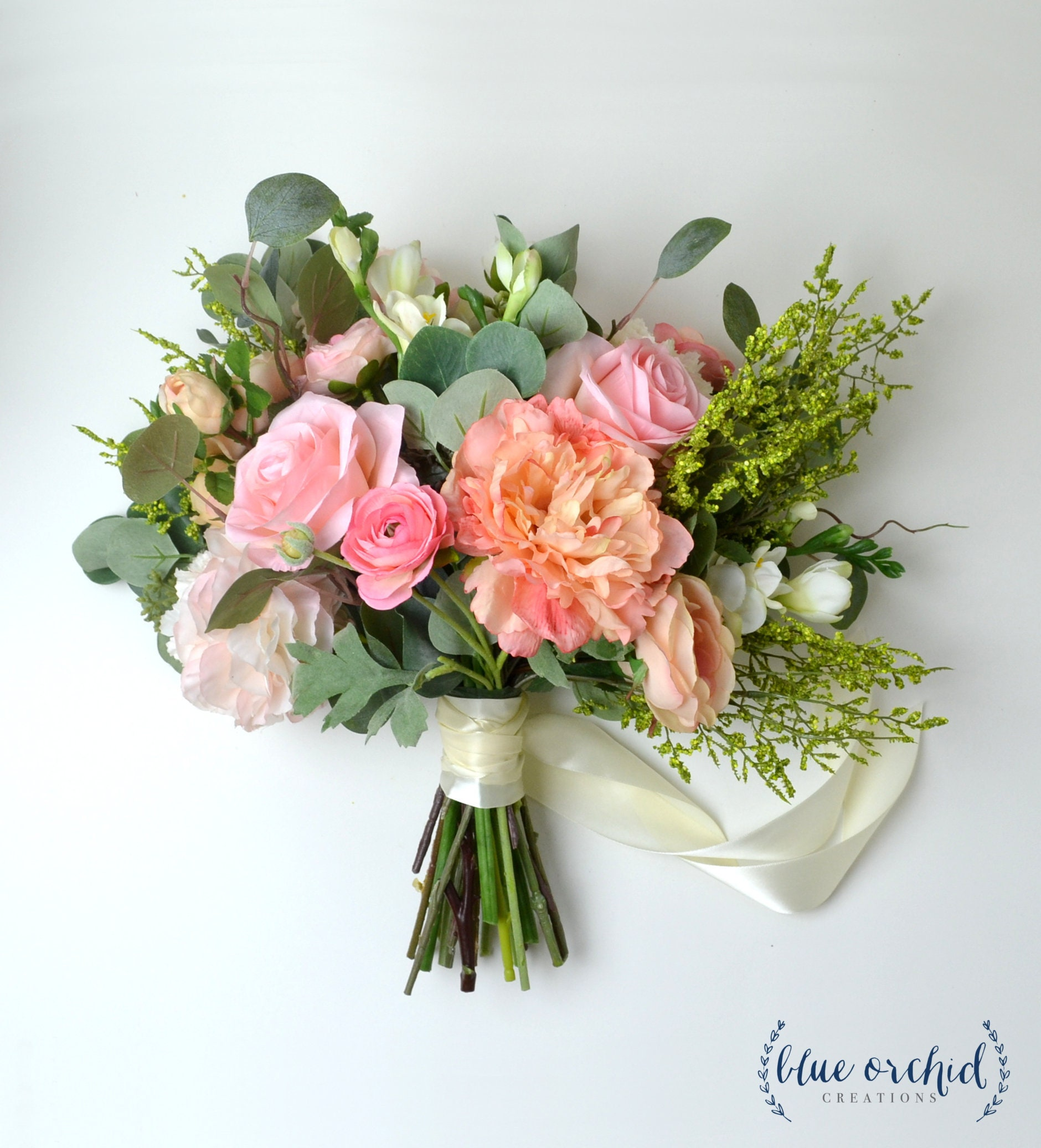 Wedding Bouquet Wedding Flowers Bridal Bouquet Boho Etsy