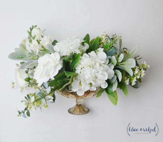 Floral Arrangement Wedding Flowers Centerpiece Flower Etsy
