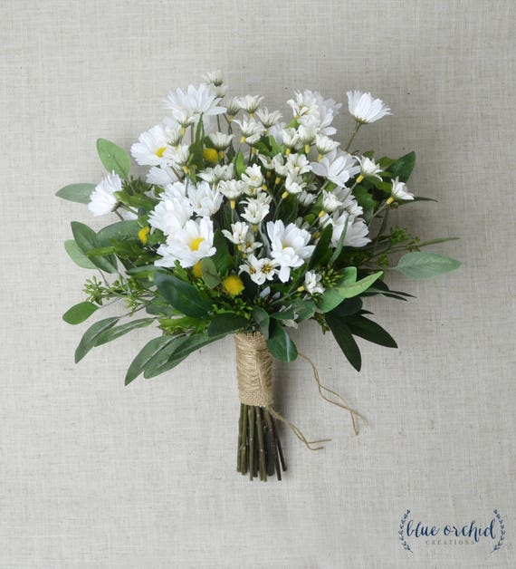 Wild Flower Wedding Bouquet: Daisy Bouquet Wedding Bouquet Wildflower Bouquet Wedding
