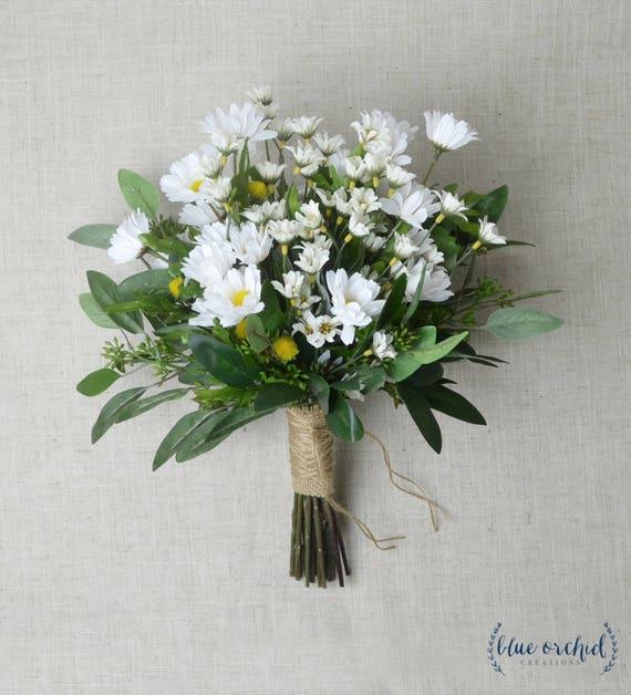 Daisy Bouquet Wedding Bouquet Wildflower Bouquet Wedding | Etsy