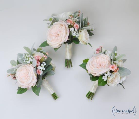 Wedding Flowers Bridesmaid Bouquet Bridesmaid Bouquet Boho Etsy