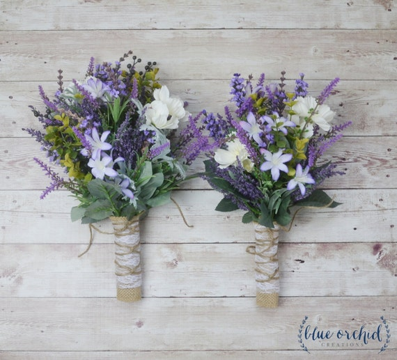 Wild Flower Wedding Bouquet: Wildflower Bouquet Wedding Flowers Bridesmaid Bouquet