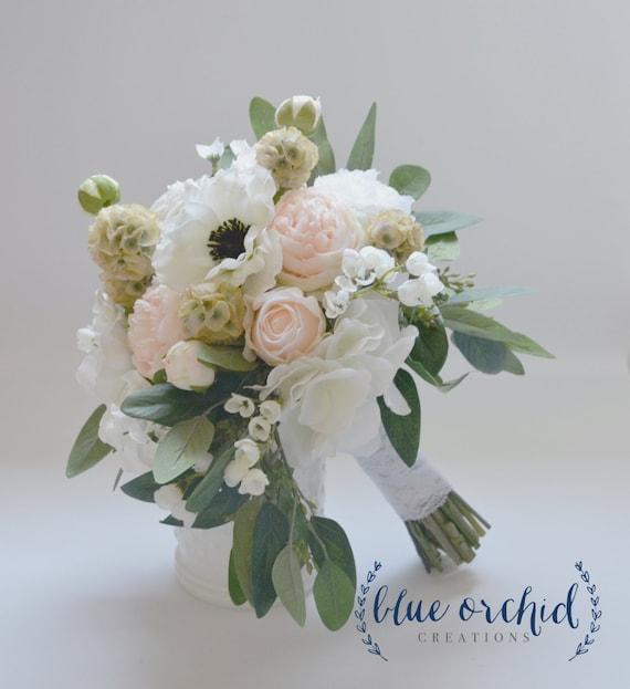 Wedding Bouquet Silk Bouquet Silk Flower Bouquet Silk | Etsy