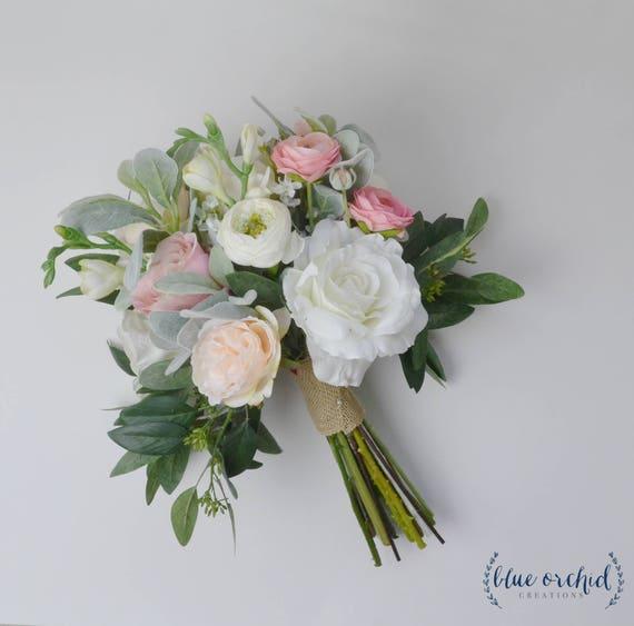 wedding flowers wedding bouquet white bouquet eucalyptus   Etsy