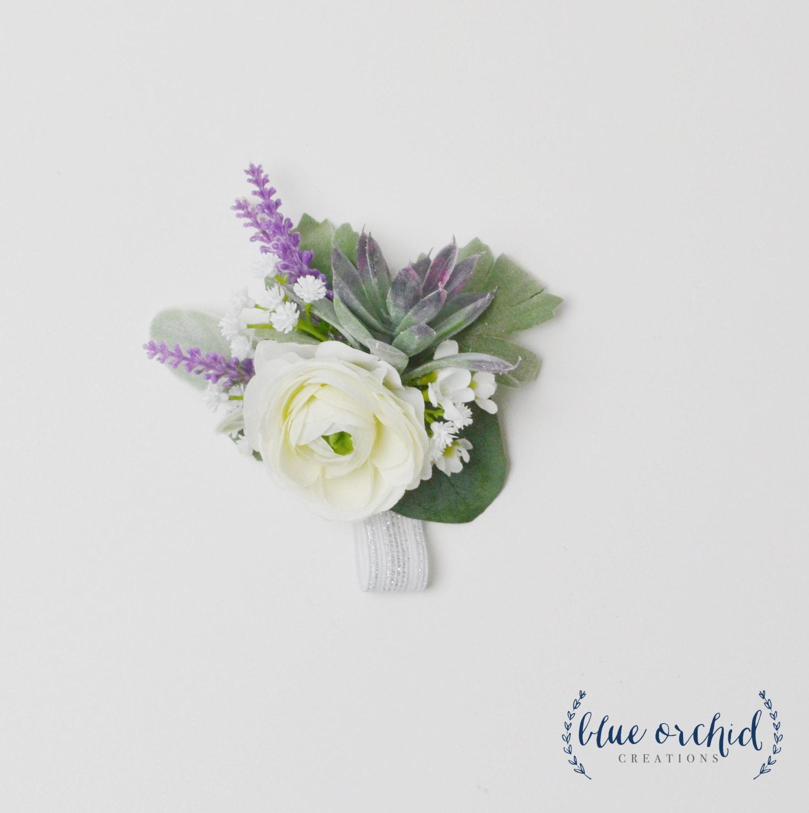 Wrist Corsage Wedding Corsage Wedding Flowers Silk Wedding Etsy