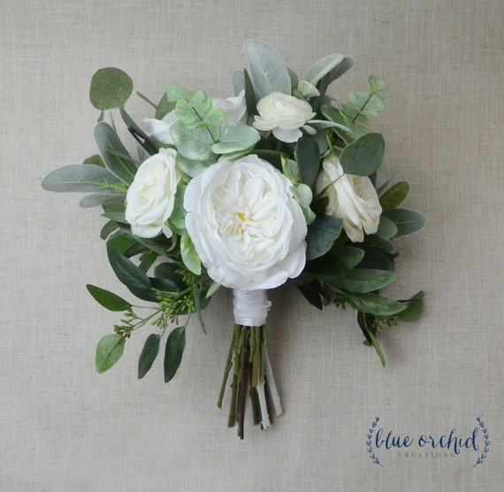 Mariage Bouquet Fleurs De Mariage Boho Bouquet Bouquet De La Mariee Pivoines Blanc Eucalyptus Fleur Ensemble De Mariage Mariage A Destination