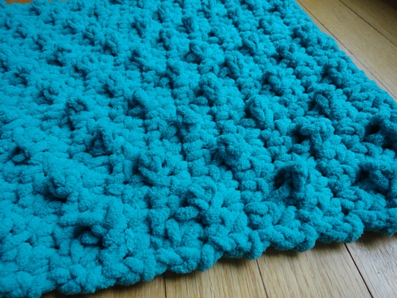 Crochet Pattern Bumpy Bath Mat Bathroom Rug Diy Etsy