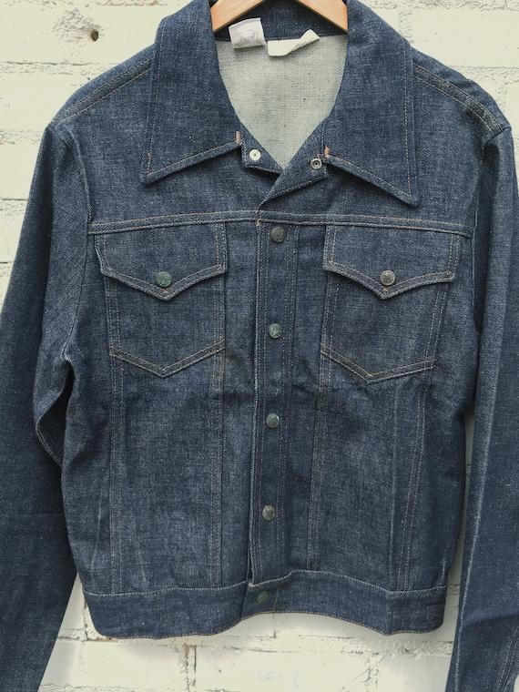 60s Vtg Pointer Brand Trucker Blue Jean Jacket  /