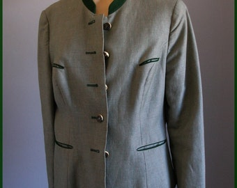 Vintage Austrian Jacket Riding Jacket Stag Horn Buttons