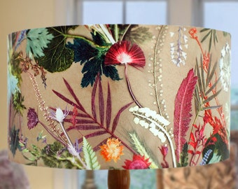 Floral Lampshade Etsy