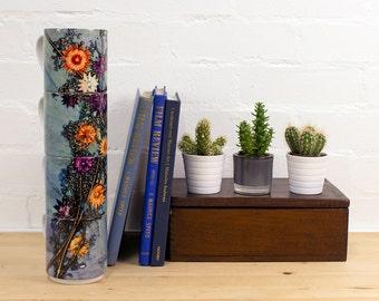 Printed Pattern, Branching Astrantia, Stacking Mug Set