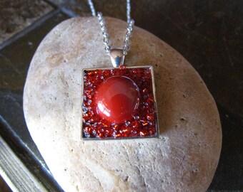 Red Pendant Necklace DLJ0150