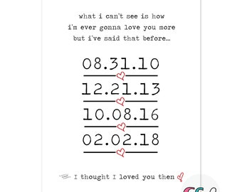 I thought I loved you then. My Best Friend or your lyrics - special dates with lyrics - tell your story :)