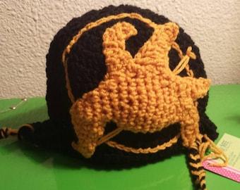 Hunger Games Hat, Mockingjay Hat, Katniss, Catching Fire,