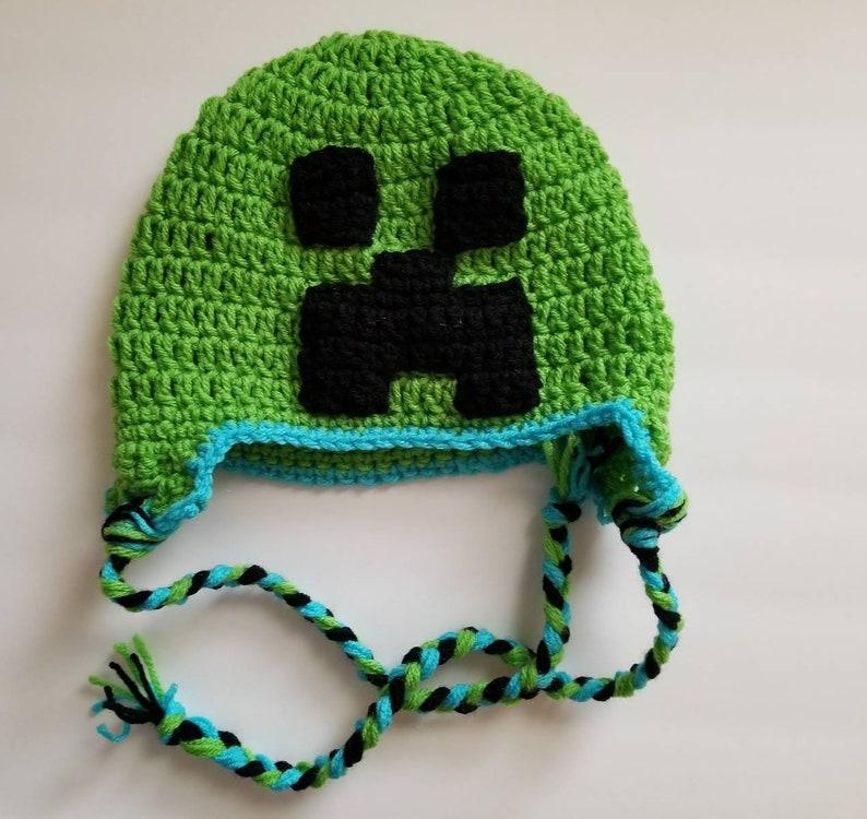 d8388b73f32 Powered Up Creeper creeper powered up creeper hat Minecraft
