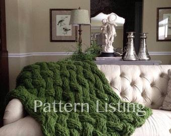 Bird's Nest Blanket Pattern