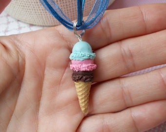 necklace, ice cream