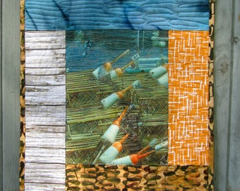 Nautical Wall Hanging,  Decoration,  summer, beach, Ocean, Fishing, Lobster Trap