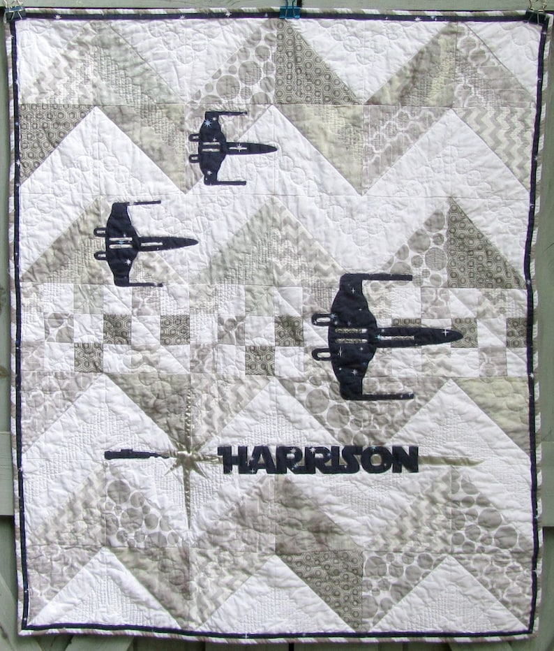 Star Wars Baby Quilt Personalized | Etsy
