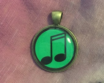 Music Notes Pendant