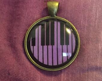 Piano Keys Pendant