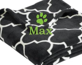 Pet Blankets, Personalized Dog Blanket, Dog Blanket, Personalized Pet Blanket, Pet Blankets for Dogs, Soft Fleece Blankets, Cre8ivGifts