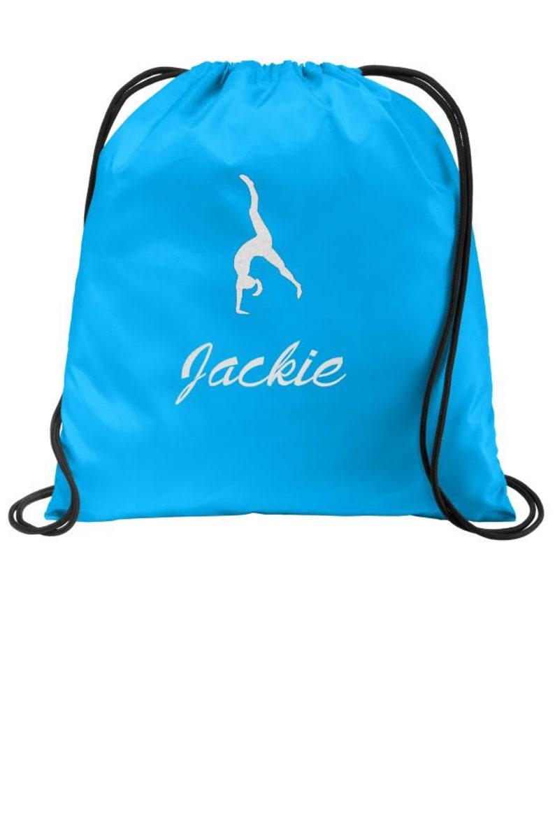 90f92485cf84 Gymnastics Bag Gymnastics Backpack Drawstring Bags Cinch