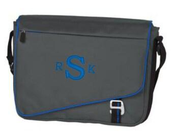 Messenger Bags, Personalized, Messengers, Monogram, Shoulder Bag, School Bag, Laptop Bag, College Bag, Computer Bag, Christmas Gifts