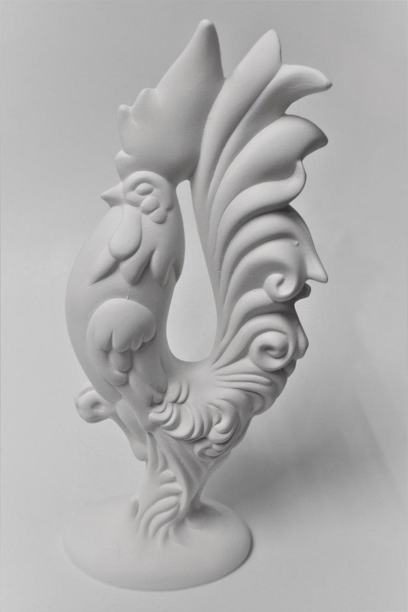 Buffalo Arrowhead Christmas Ornament 1 Ready to Paint Ceramic Bisque Handmade in The USA