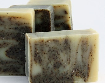 Vegan, Palm free, Organic Soap - Green Tea and Bergamot / Face and Body Cleanser  (Vegan, Palm Free, Cruelty Free)