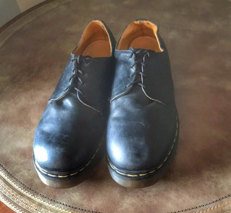 Dr Martens Oxfords Shoes UK 12 US 13 Chunky Sole Vintage 90s image 0