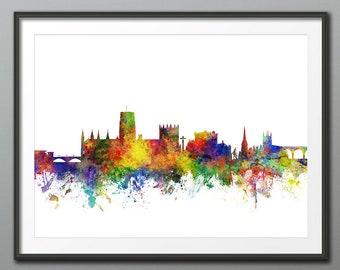 Durham Skyline Etsy