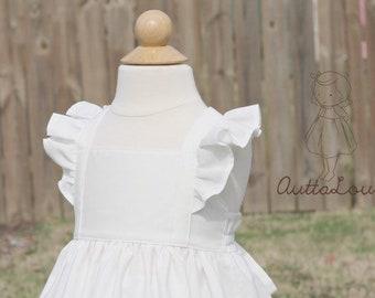 d75af1789 Girls white dress