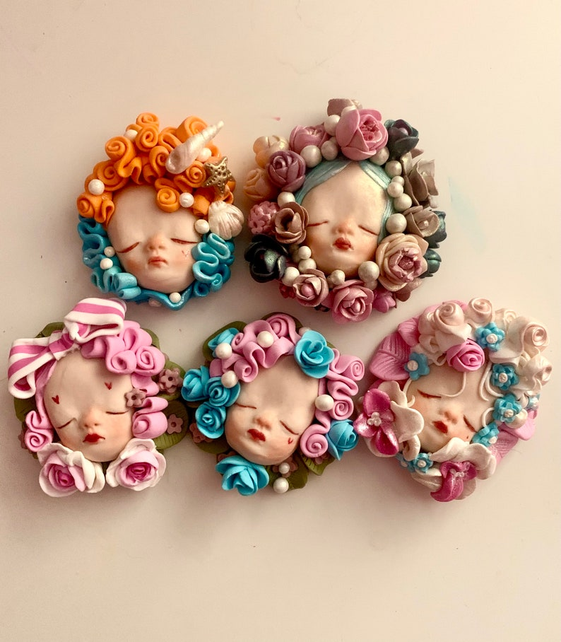 Handmade brooch by Natascia Raffio