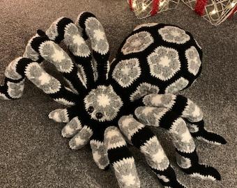Mrs Bs Bert the crochet African flower motif Spider