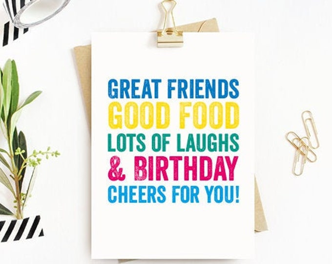 Birthday Cake Funny British Humour Greeting Birthday Card