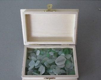 Sea Glass Sale 200 Bulk Sea Glass, Treasure Chest Beach Glass Treasures, Wedding Centerpiece,  Jewelry Supply, Housewarming Gift, Gift for F