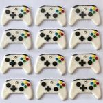 Fondant Cupcake Toppers - Video Game Controller - One