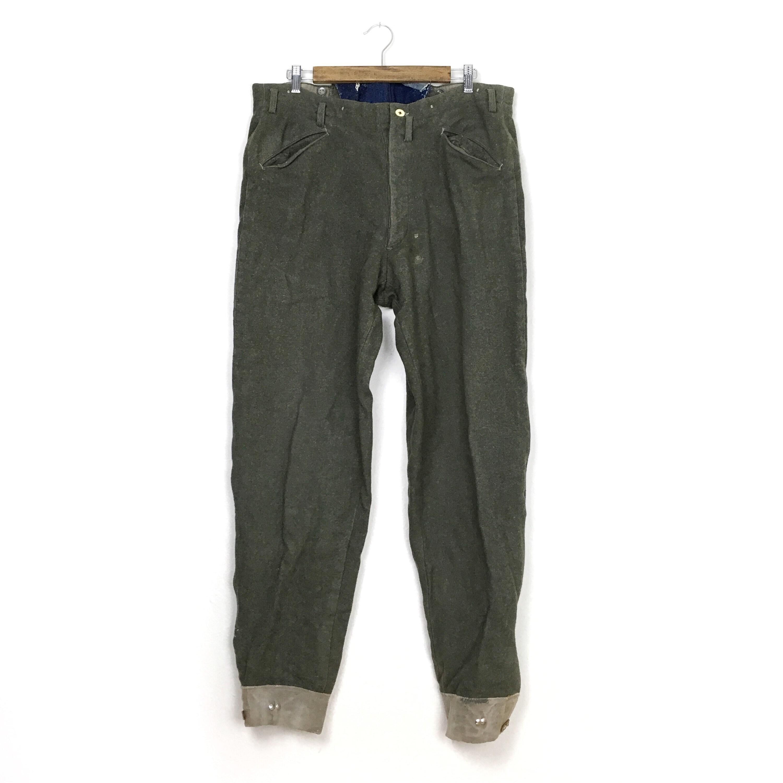 Pantalon Outdoorsman en laine vert - Outdoorsman Pantalon Vintage pantalon ae5a2e