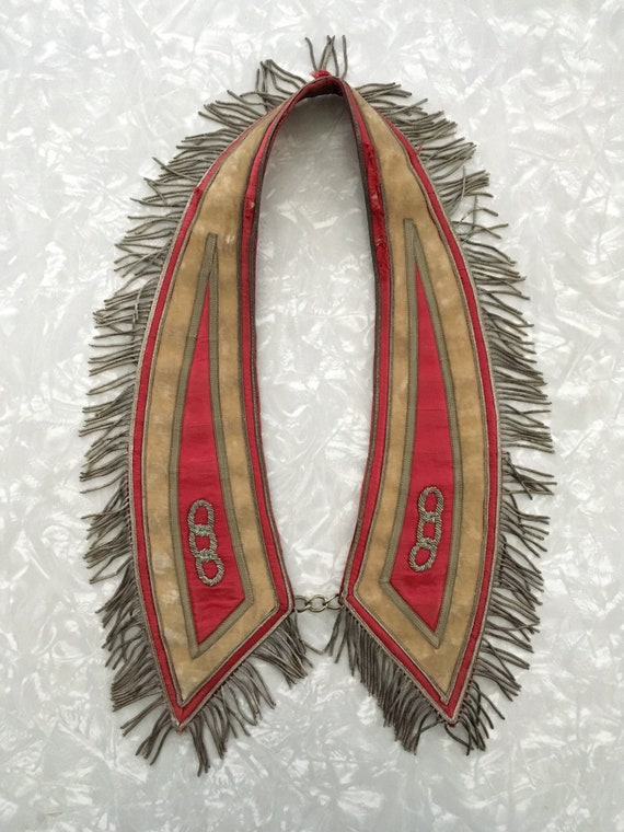 Masonic Collar Antique Royal Costume