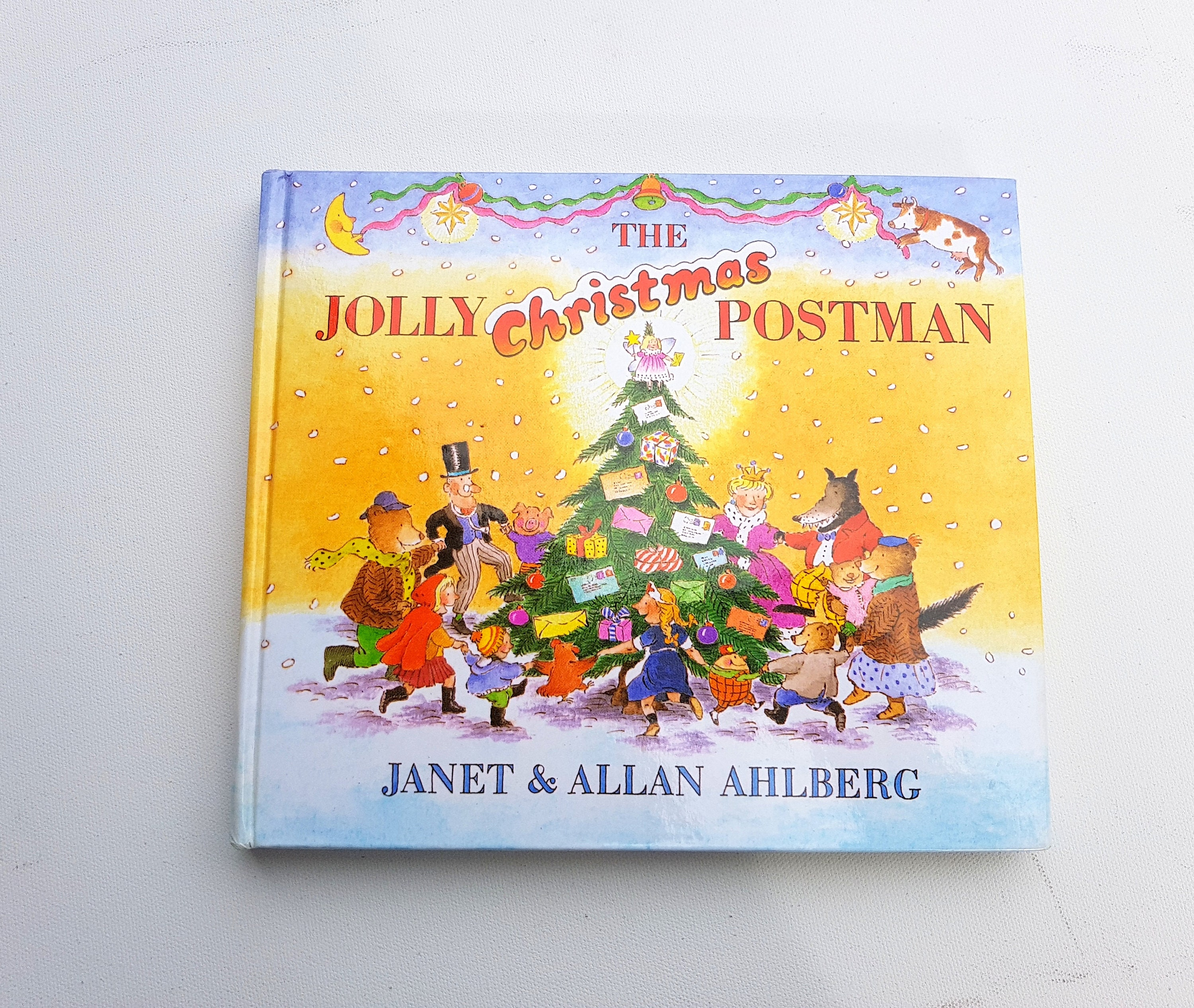 The Jolly Christmas Postman Janet and Allan Ahlberg Features | Etsy