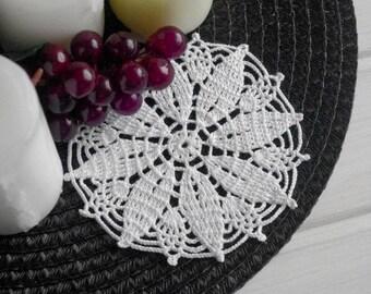 Small crochet doily Crochet coasters Crocheted lace doilies Small cotton crochet doilies 5 inches 405