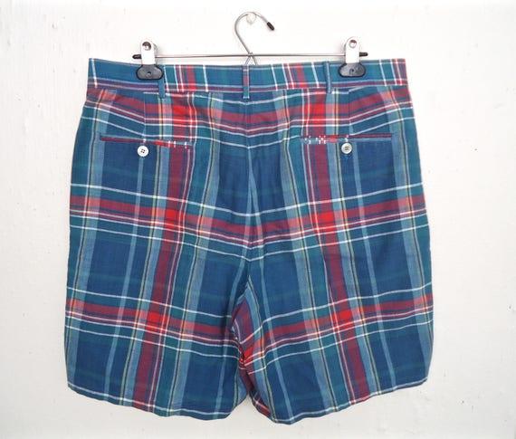 1fb92ea458 Brooks Brothers Indian Madras Shorts / vintage preppy   Etsy