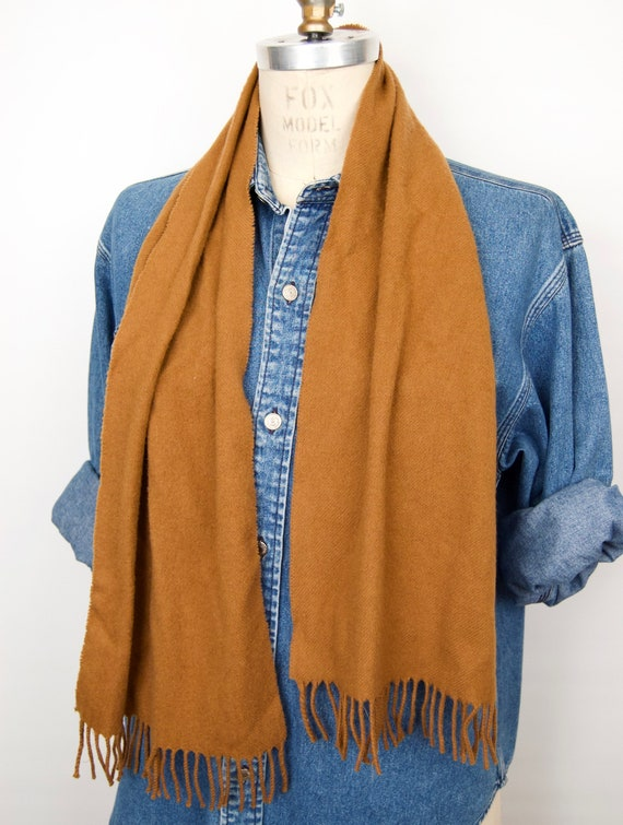 Vintage Scottish Cashmere Scarf by Aquascutum - image 2