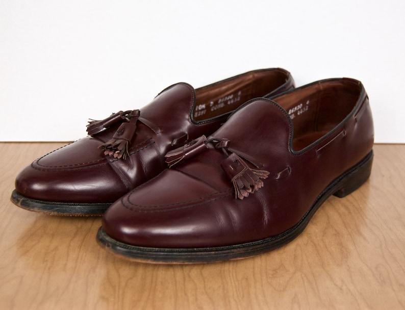 862b6f4ecba Allen Edmonds Tassel Loafers   vintage Grayson oxblood