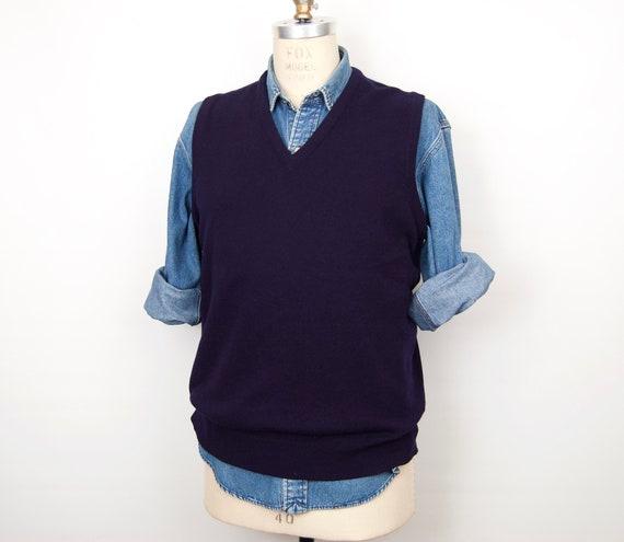 1980s Scottish Cashmere Sweater Vest / Ballantyne